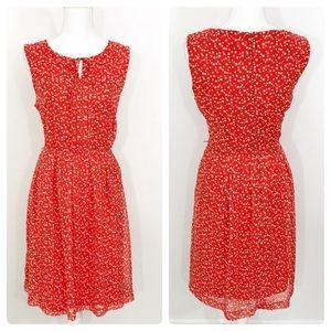 Hi There Karen Walker Polka Dot Midi Dress